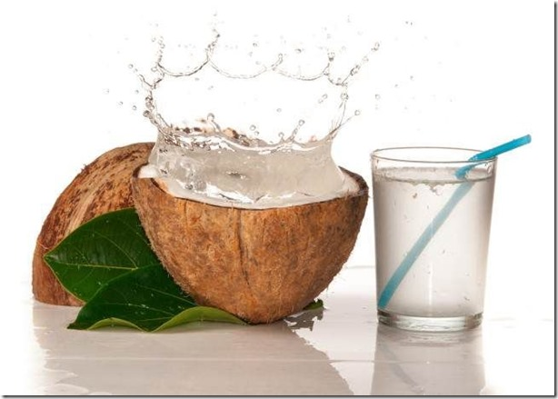 agua de coco propiedades